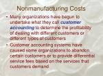 nonmanufacturing costs55