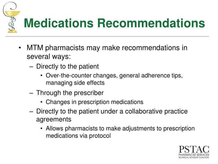 Medications Recommendations