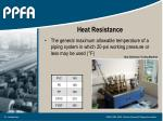 heat resistance