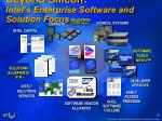 beyond silicon intel s enterprise software and solution focus