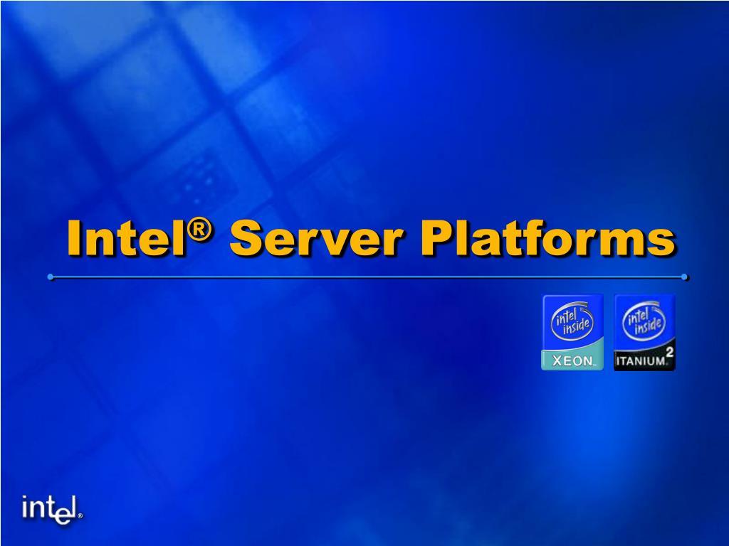 intel server platforms l.