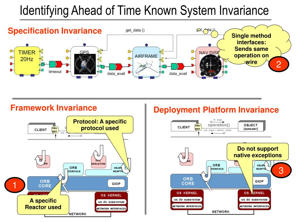 Identifying Ahead of Time Known System Invariance