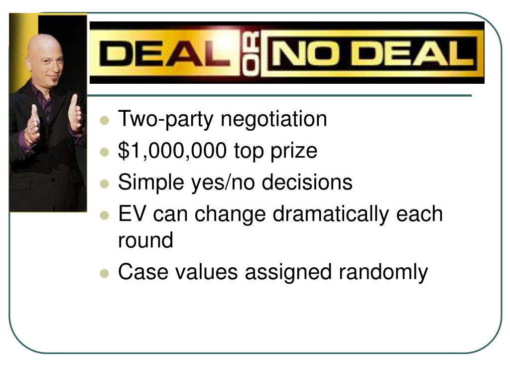 Two-party negotiation