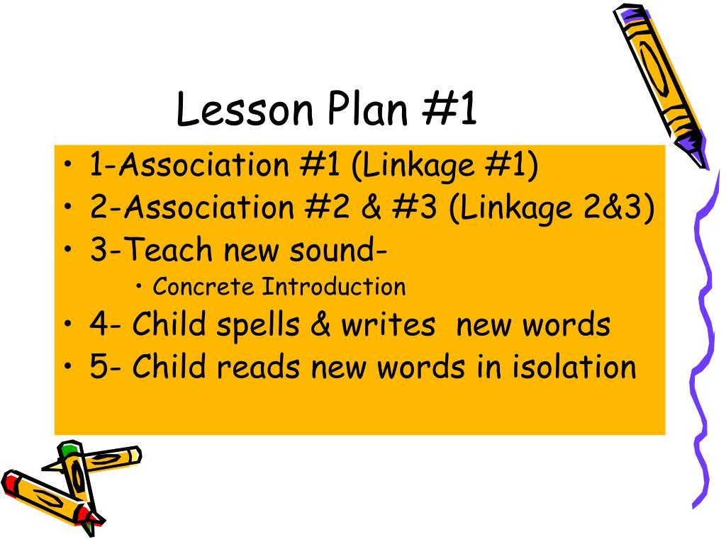 Lesson Plan #1