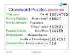 crossword puzzles shortz 98