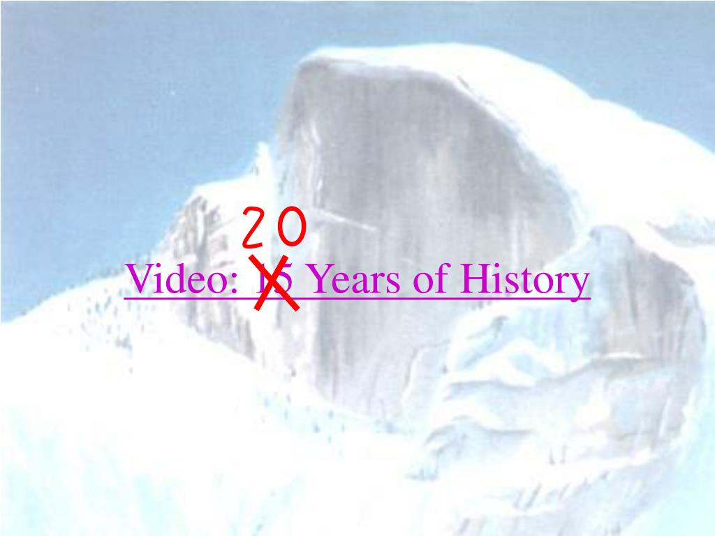 Video: 15 Years of History