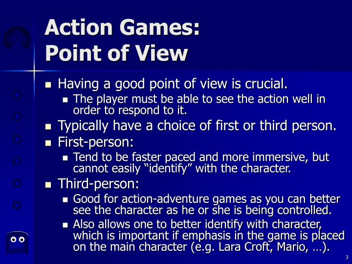 Action games point of view