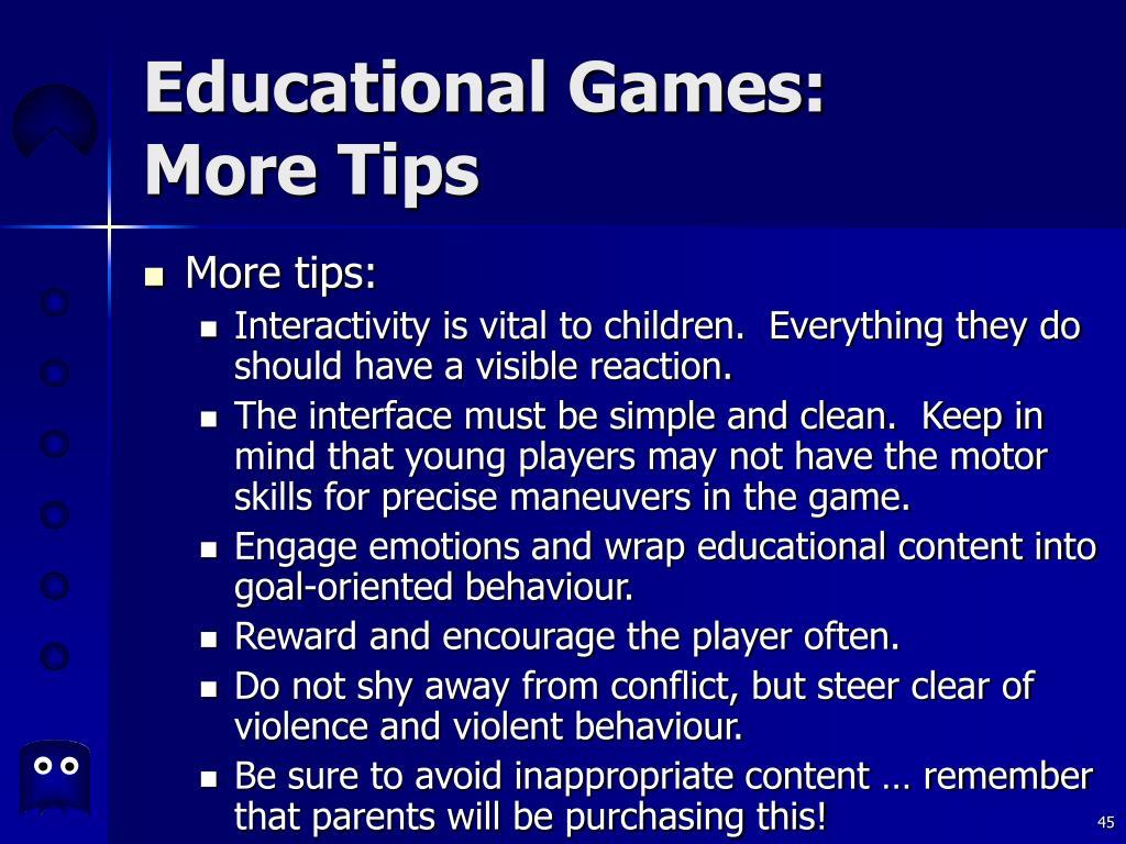 Educational Games: