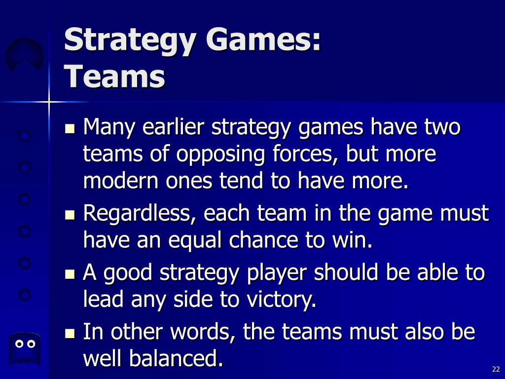 Strategy Games: