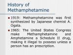 history of methamphetamine25