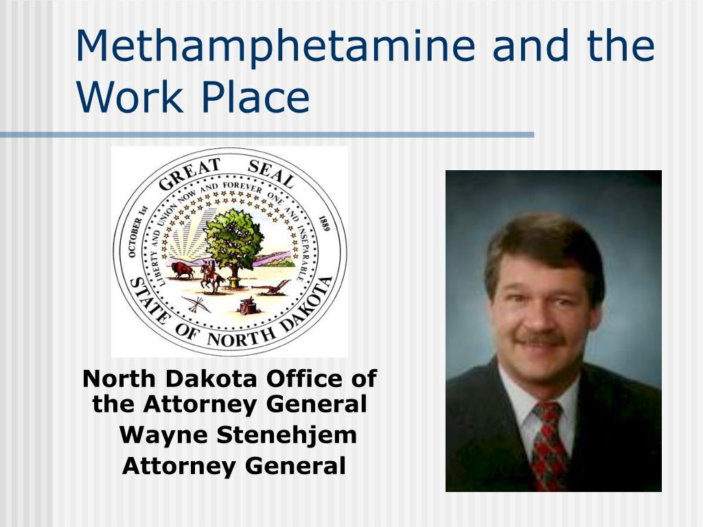 methamphetamine and the work place l.