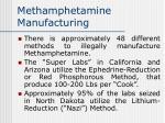 methamphetamine manufacturing56