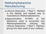 methamphetamine manufacturing57
