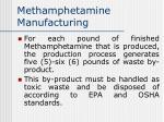 methamphetamine manufacturing58