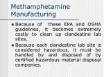 methamphetamine manufacturing59