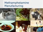 methamphetamine manufacturing71
