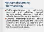 methamphetamine pharmacology38