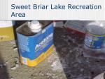 sweet briar lake recreation area22