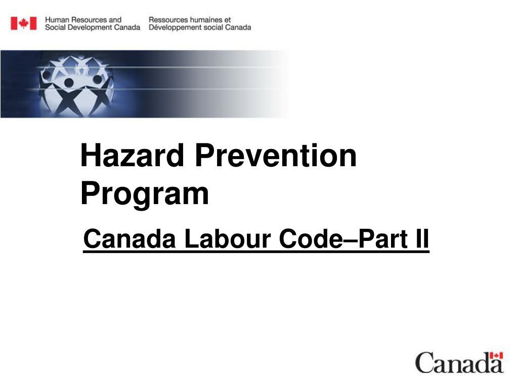 Hazard Prevention Program