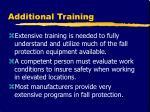 additional training