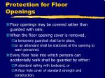 protection for floor openings10