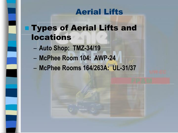 Aerial lifts3