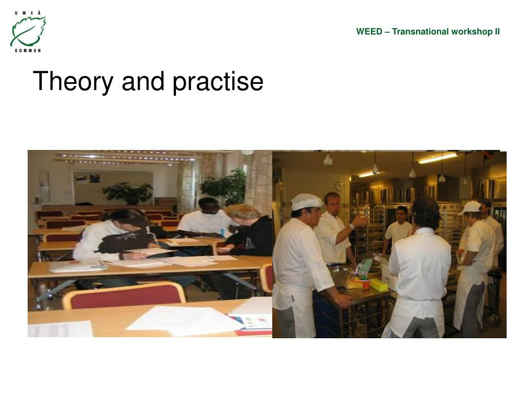 Theory and practise