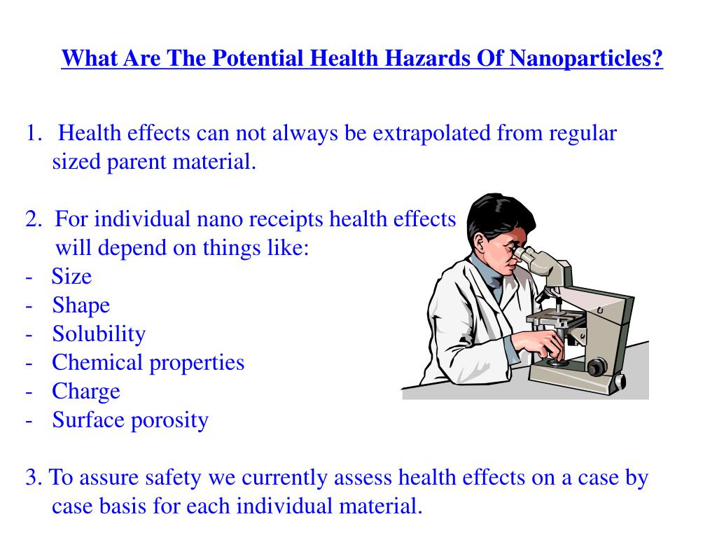 What Are The Potential Health Hazards Of Nanoparticles?