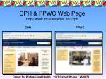 cph fpwc web page http www mc vanderbilt edu cph