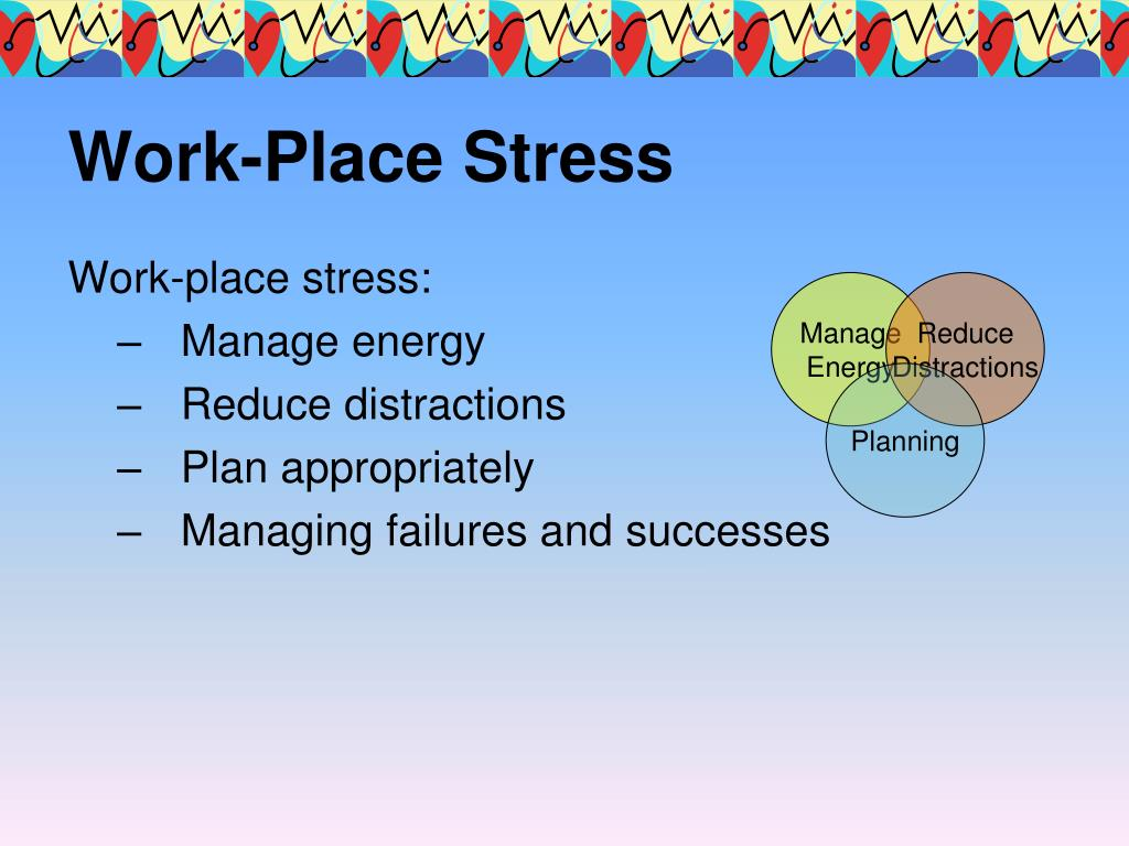 Work-Place Stress