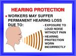 hearing protection37