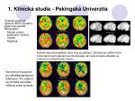 1 klinick studie pekingsk univerzita