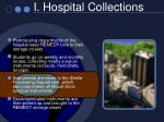 i hospital collections