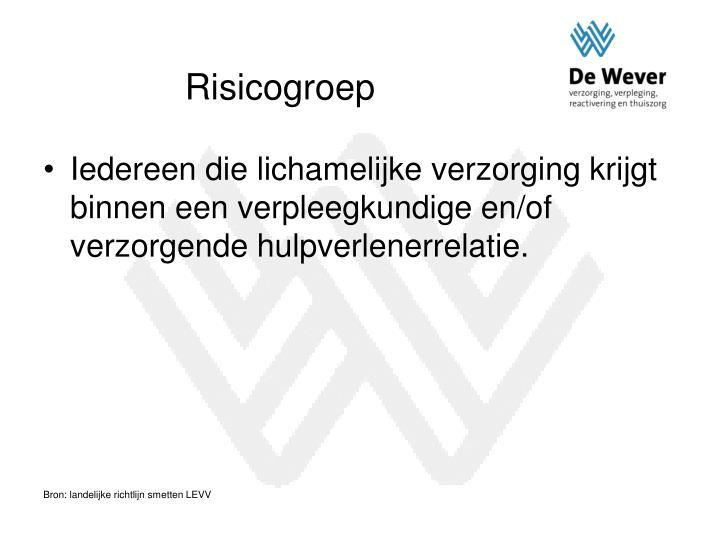Risicogroep