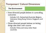 trompenaars cultural dimensions18