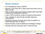 board research