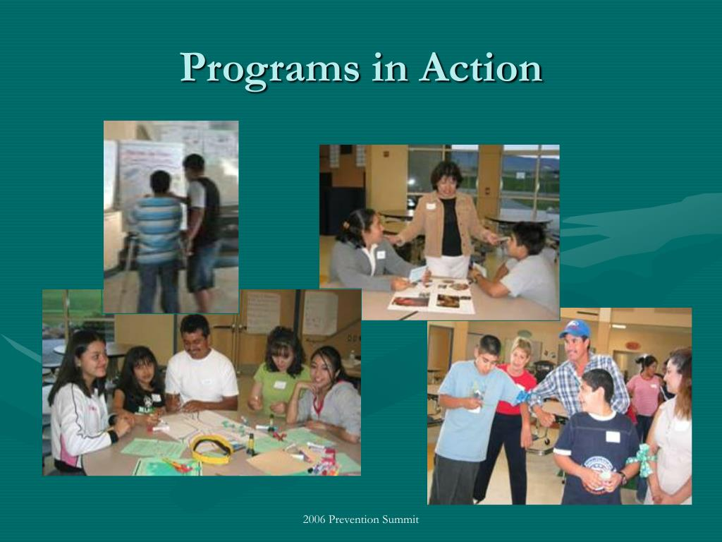 Programs in Action