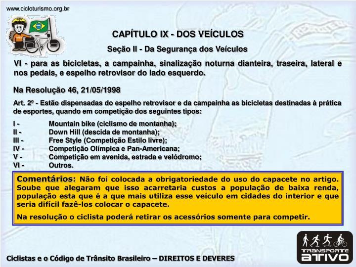 CAPÍTULO IX -