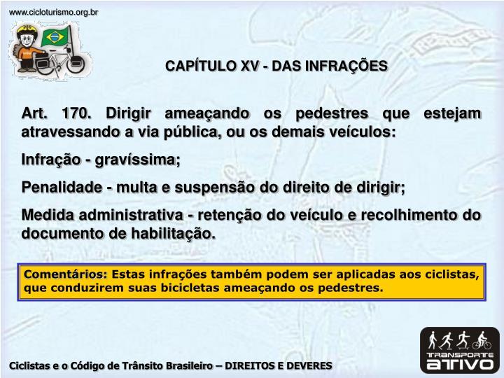 CAPÍTULO XV -