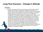 long term success change in attitude32