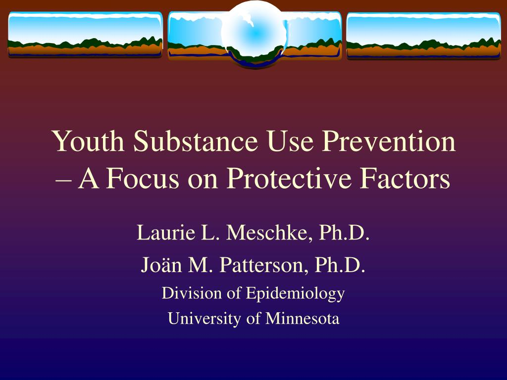 youth substance use prevention a focus on protective factors