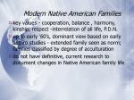 modern native american families35
