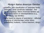 modern native american families36