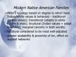 modern native american families37