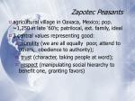 zapotec peasants