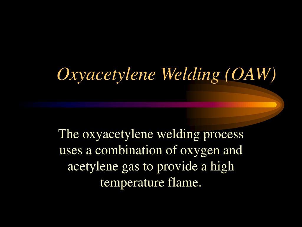 oxyacetylene welding oaw l.