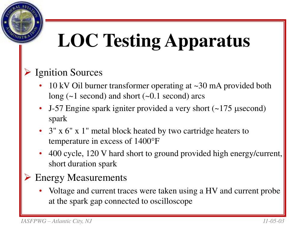 LOC Testing Apparatus