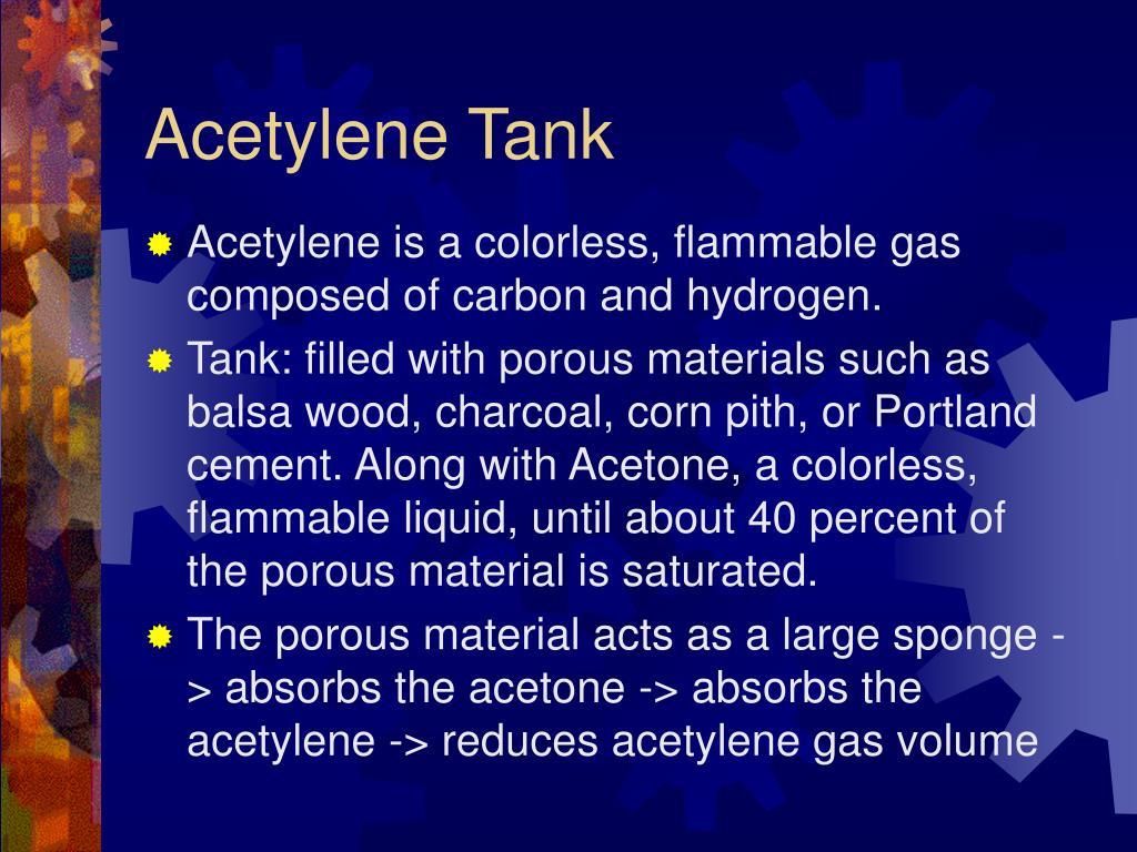 Acetylene Tank