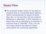 steam flow