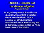 tnrcc chapter 344 landscape irrigation proposed revision